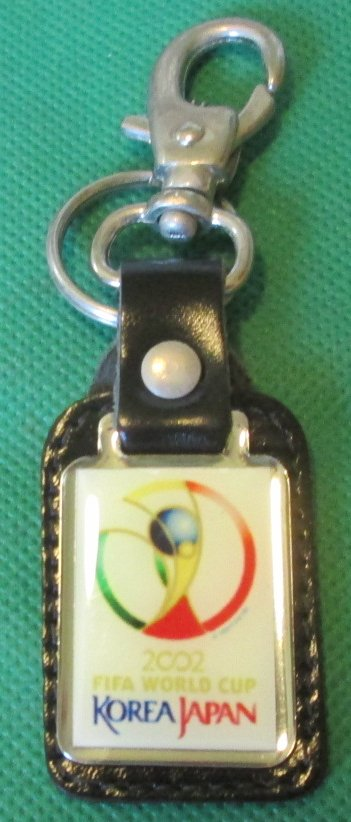 2002 FIFA WORLD CUP Korea Japan keyring key chain clip-on 2.5""