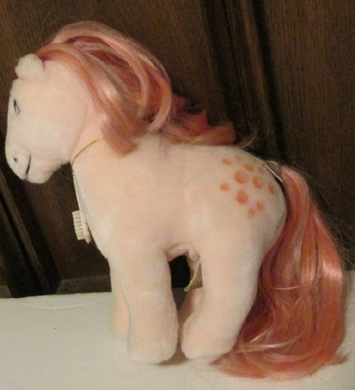 Vintage Applause My Little Pony MLP plush Cotton Candy doll