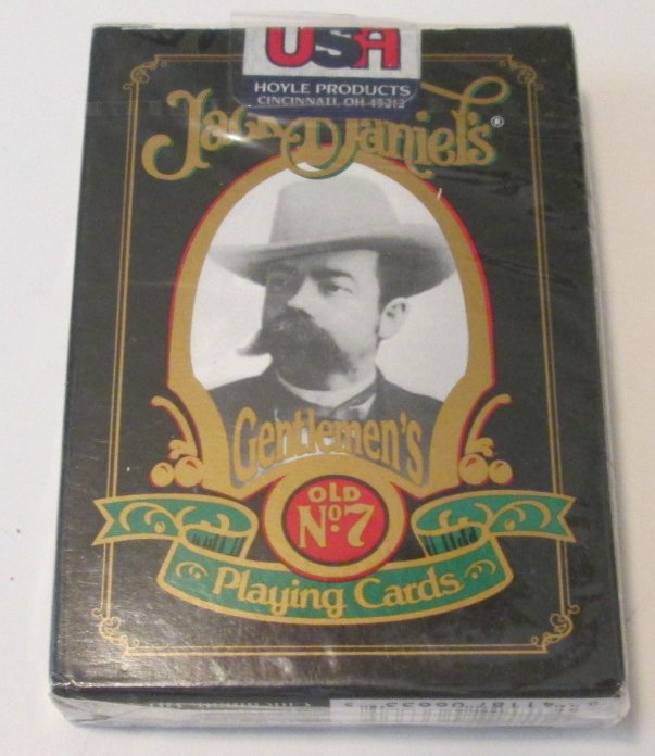 1 Deck JACK DANIEL'S playing cards, Hoyle, Mint in Package