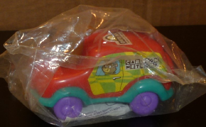 Cartoon Network Crazy Racer SCOOBY-DOO in red car DAYS INN MIP