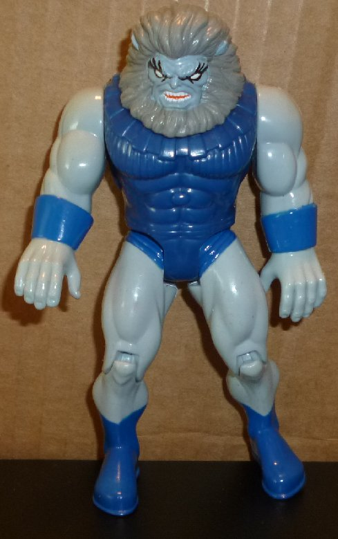 "BLASTAAR action figure toy 5"", 1995 Marvel Toy Biz"