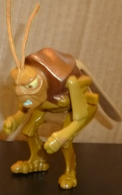 BUG'S LIFE #7 Bestiole wind-up roach, Disney McD McDonalds