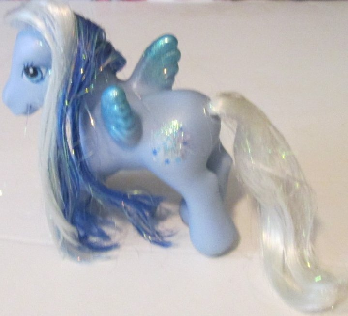 G3 MLP My Little Pony SILVER GLOW pegasus