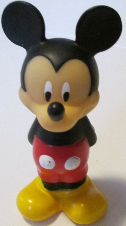 MICKEY MOUSE hands behind back vinyl Figure 4.5""