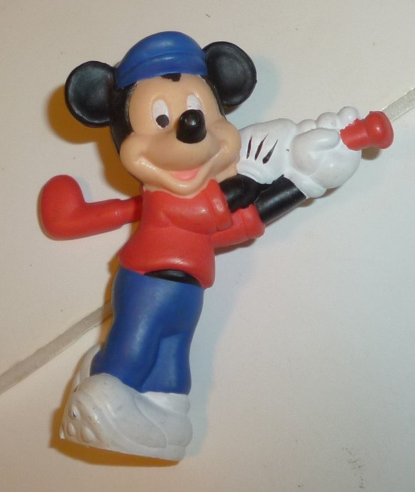 "MICKEY MOUSE golfer PVC Figure 2.25"", Disney"