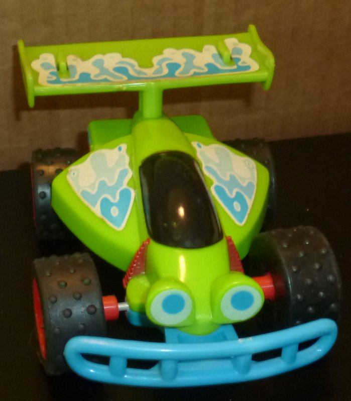 "TOY Story ANDY'S RC CAR 5"" long, McDonald's McD"