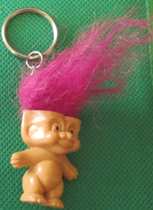 "Naked TROLL figure keyring key chain keychain 1.5"" - Click Image to Close"