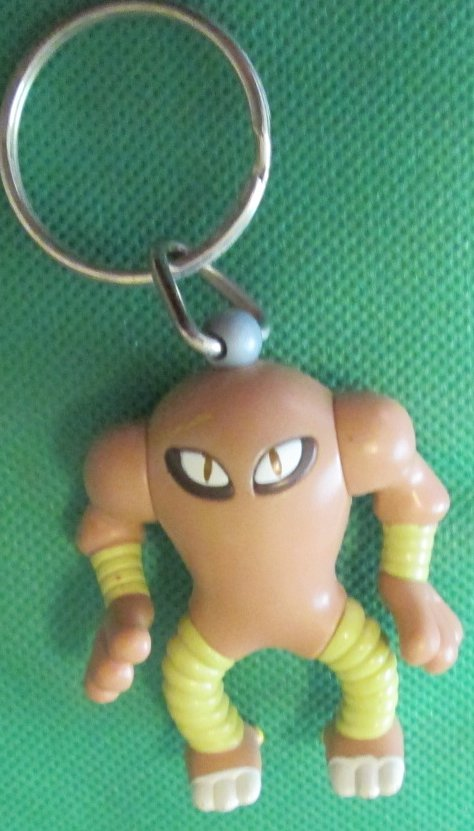 POKEMON Burger KIng Hitmonlee PVC figure keyring key chain 2.5""