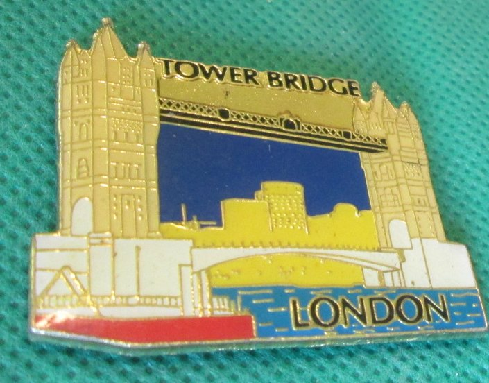 LONDON England TOWER BRIDGE Souvenir refrigerator frig MAGNET