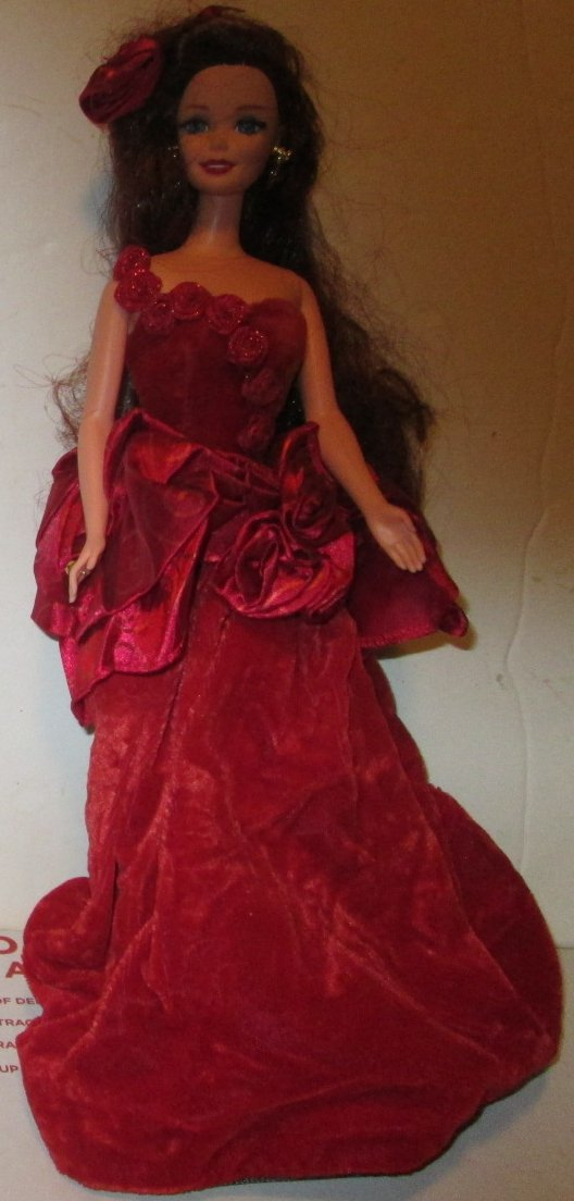 BARBIE CE Doll Special Edition RADIANT IN RED (?) Evening Gown