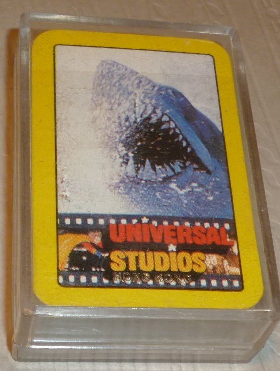 "1 Deck vintage MINI playing cards 1.5""x2.25"" UNIVERSAL STUDIOS"