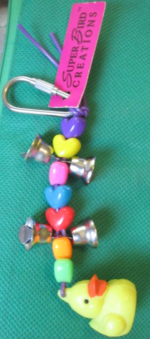 Super Bird Creations JUST DUCKY keyring key chain 4.5""