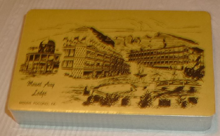 1 Deck MOUNT AIRY LODGE MOUNT POCONO, PA souvenir playing cards
