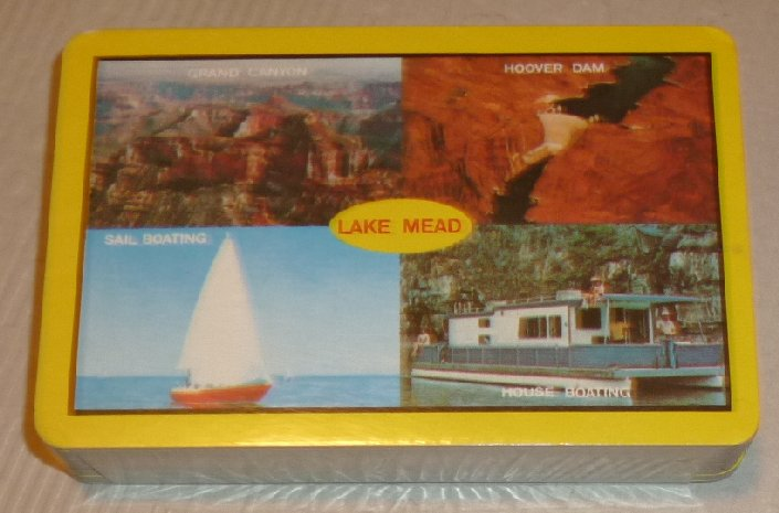 1 Deck LAKE MEAD Grand Canyon Hoover Dam souvenir playing cards