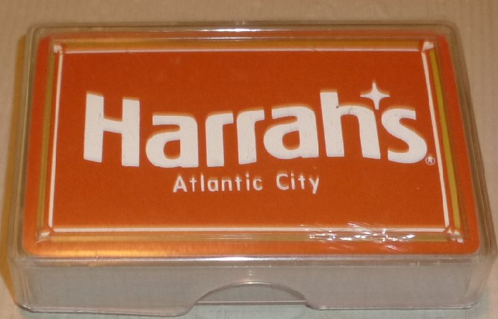 1 Deck HARRAH'S Casino ATLANTIC CITY NJ playing cards