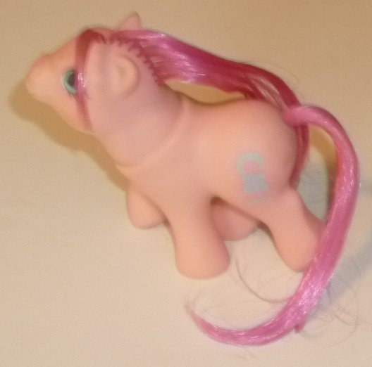 Vintage G1 MLP My Little Pony Peek A Boo BABY SWEET STUFF