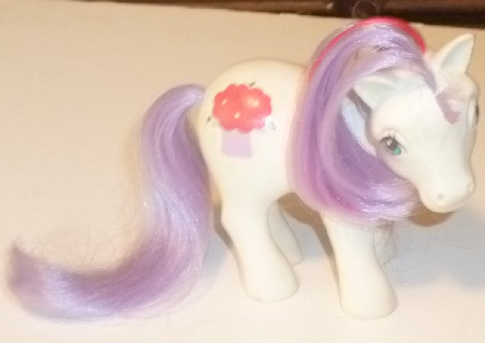 Vintage Hasbro G1 MLP My Little Pony Magic Message MAGIC HAT
