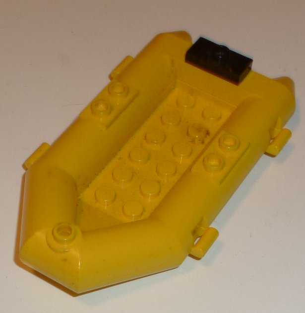 LEGO Part yellow life raft boat