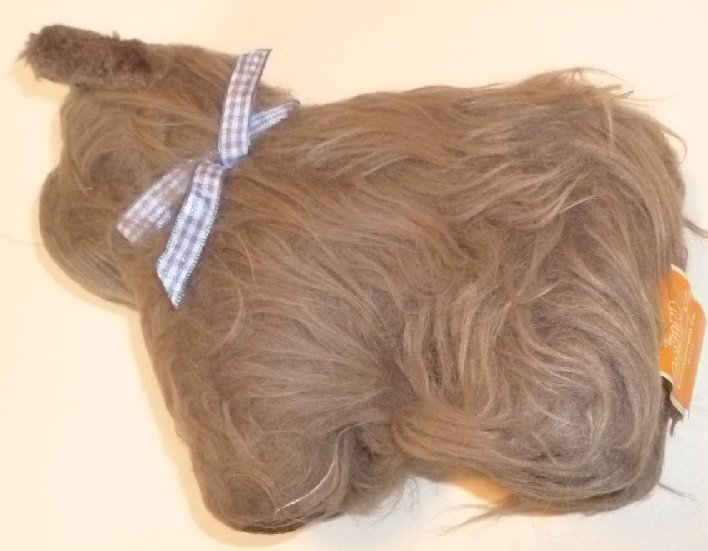 "WIZARD OF OZ Plush TOTO Cairn Terrier dog 8"" Rubie's Costume"