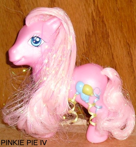 G3 My Little Pony MLP favorite friends PINKIE PIE IV