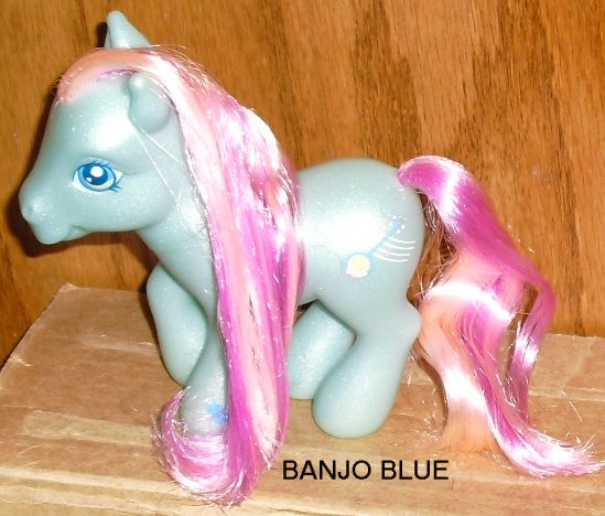 G3 Hasbro My Little Pony MLP BANJO BLUE