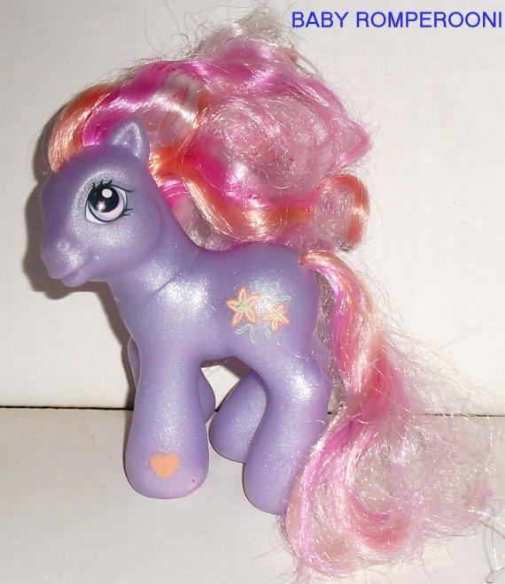 G3 gen 3 My Little Pony MLP BABY ROMPEROONI Hasbro