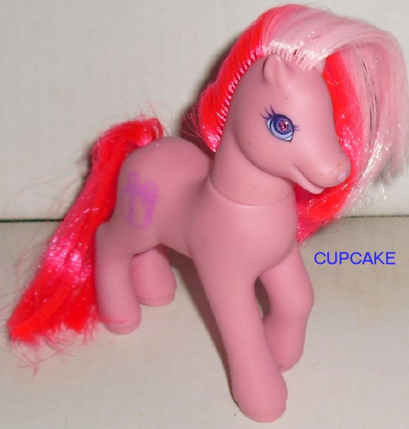G2 gen 2 My Little Pony MLP Hasbro CUPCAKE jewel eyes