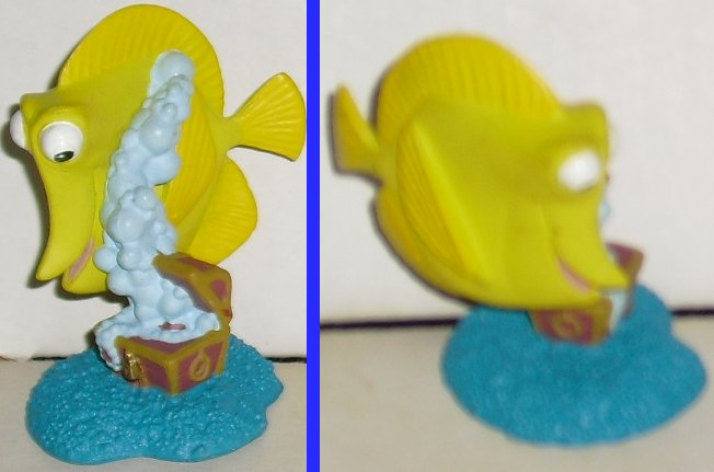 "Finding Nemo yellow fish (?) PVC Figure 2.5"", Disney"