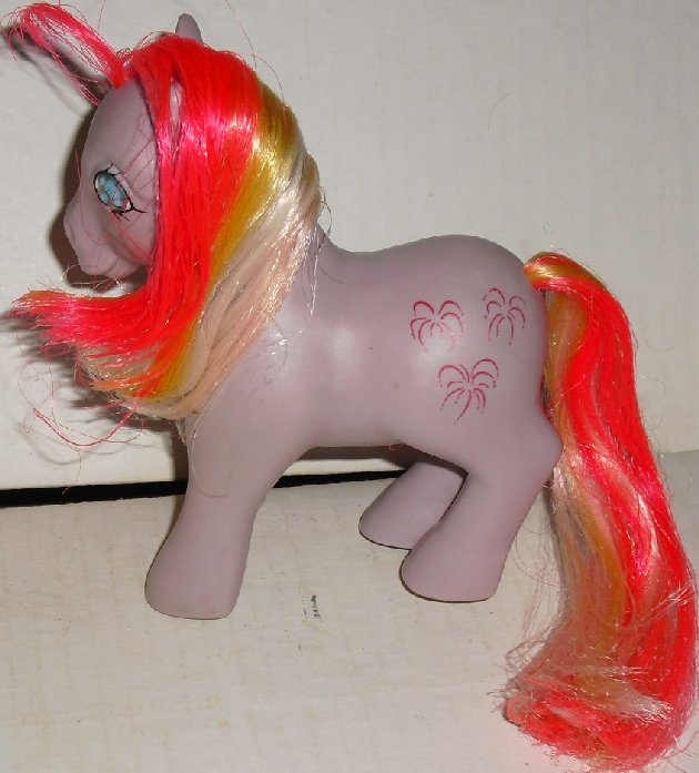 G1 1986 Vtg My Little Pony MLP Twinkle Eyed SKY ROCKET