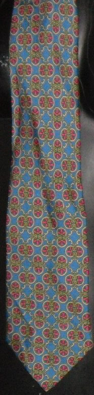 ALAIN FIGARET Paris France Silk Neck TIE Necktie