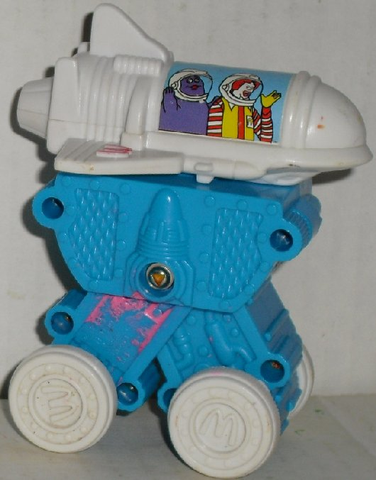 McMoon Buddies McSpace Shuttle toy car MCD McDonald's