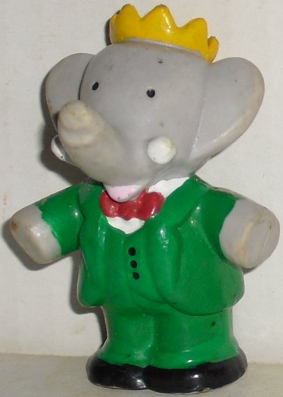 1988 King BABAR elephant PVC figure 2.5""