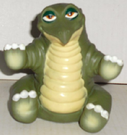 LAND BEFORE TIME Vinyl Puppet SPIKE Dinosaur Toy