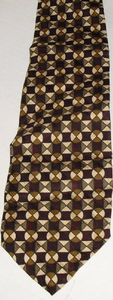 ROBERT TALBOTT for Jerry Ryan Silk Neck TIE Necktie