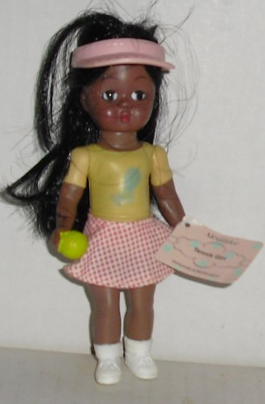 MADAME ALEXANDER Mini Doll McDonald's TENNIS AA GIRL