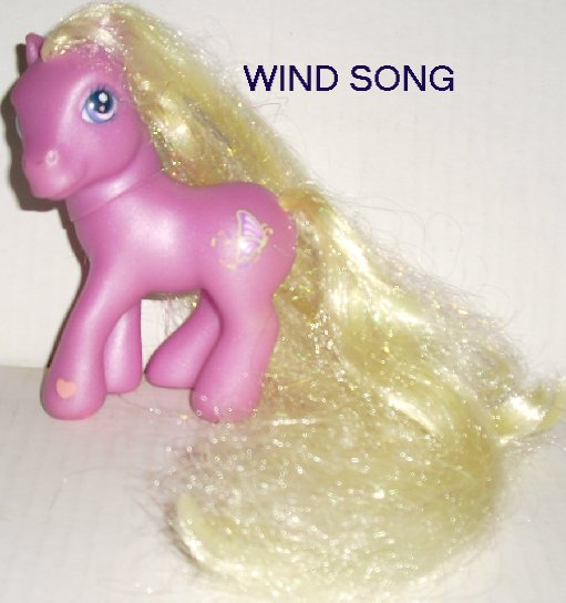 G3 Hasbro My Little Pony MLP WIND SONG