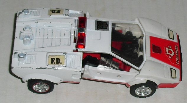 1985 Transformers G1 Red Alert Fire Chief INCOMPLETE