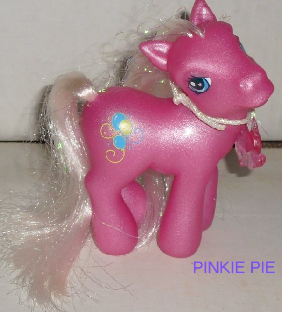 G3 Hasbro My Little Pony MLP PINKIE PIE with charm