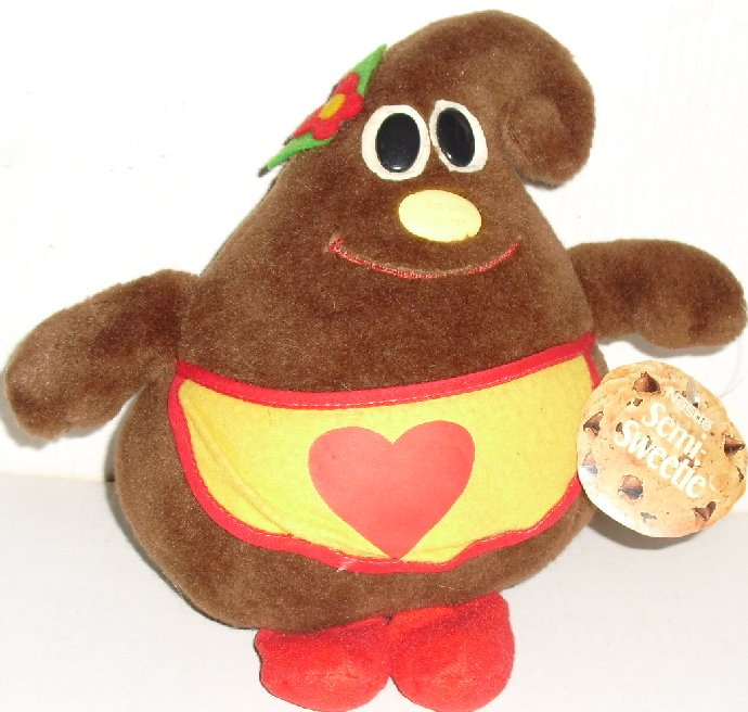 1984 NESTLE Plush chocolate Morsel Mom SEMI SWEETIE
