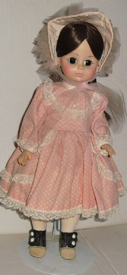 Vtg MADAME ALEXANDER Collectible girl Doll REBECCA 13""