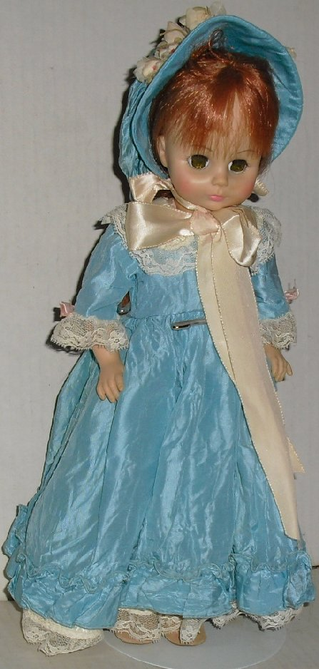 Vtg MADAME ALEXANDER Collectible girl Doll LUCINDA 13""