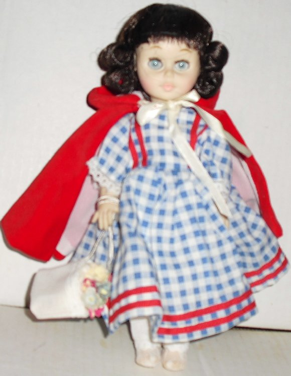 KEHAGIAS vinyl LITTLE RED RIDING HOOD Doll 9""