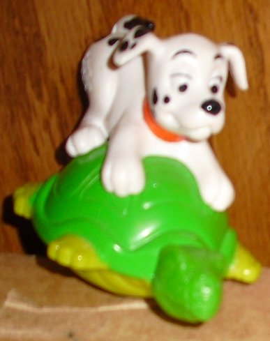 101 Dalmation on turtle McD McDonalds toy Disney