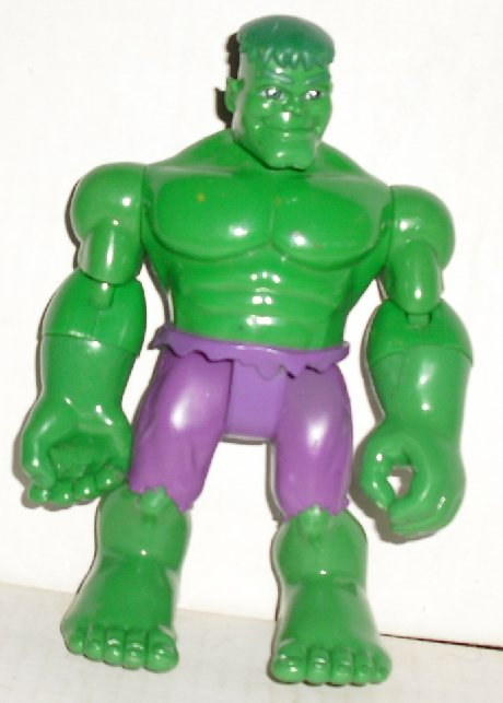 "INCREDIBLE HULK green action Figure 6.5"", 2002 Marvel"