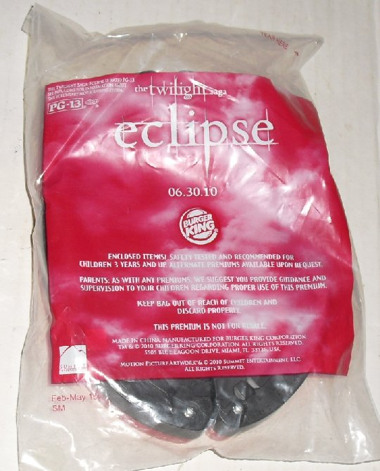 TWILIGHT ECLIPSE BELLA PICTURE BANNER Burger King MIP