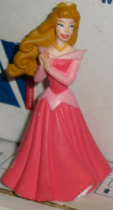 "PRINCESS Sleeping Beauty AURORA PVC Figure 3.75"", Disney,"