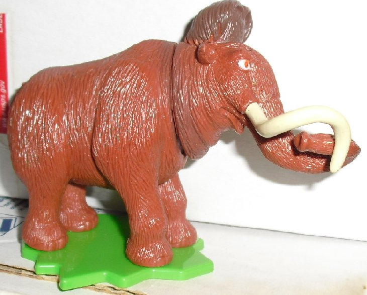 "ICE AGE Mammoth MANNY PVC figure toy 3"", 2009 Deco Pac"
