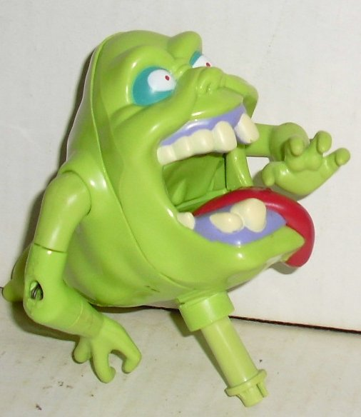 "Vintage GHOSTBUSTER green SLIMER Ghost Figure toy part 4.5"" long"