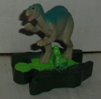 "McD MCDONALD Dinosaur on base figure toy 2.5"", Disney"