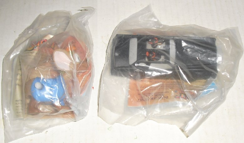 Burger King OLIVER & COMPANY Toy Lot of 2 all MIP - Click Image to Close